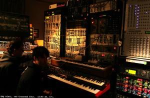 Trent Reznor - Modular Synth Studio
