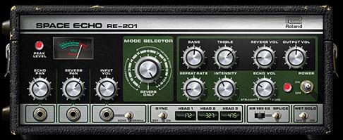 UA Roland RE-201 Space Echo Tape Delay Plugin