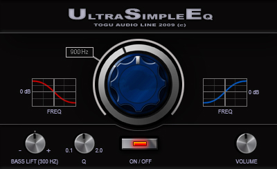 TAL Ultra Simple EQ