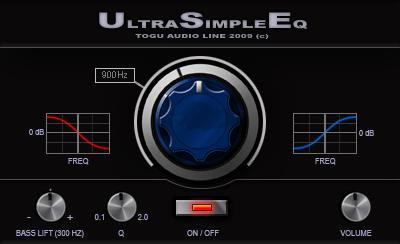 TAL Ultra Simple EQ