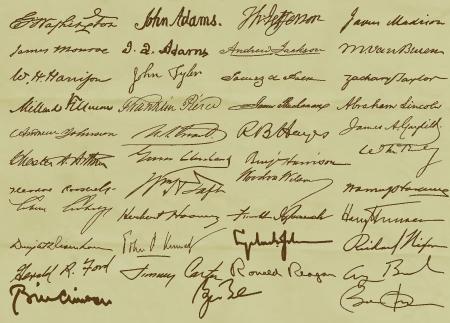US Presidential Signatures