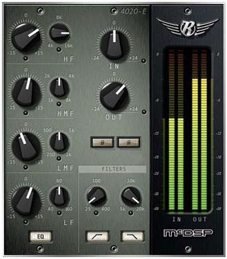 McDSP 4020 Retro EQ