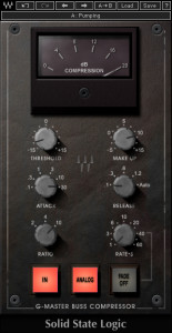 Waves SSL G-Master Buss Compressor