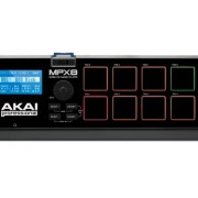 Akai Professional MPX8 SD Sample Pad Controller with Sound Library and Sample Editor