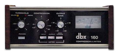 dbx 160 Hardware Compressor