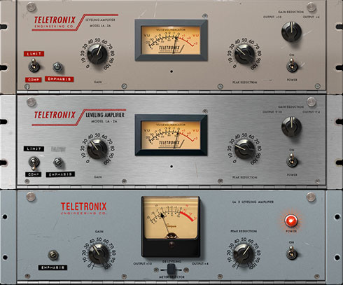 UA Teletronix LA-2A Collection
