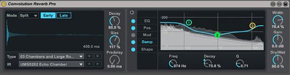 Ableton Live Convolution Reverb Pro