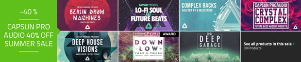 Loopmasters Summer Sale 2016 Capsun Pro Audio