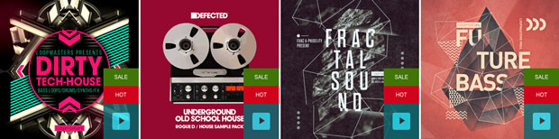 Loopmasters Summer Sale 2016 sample pack selection