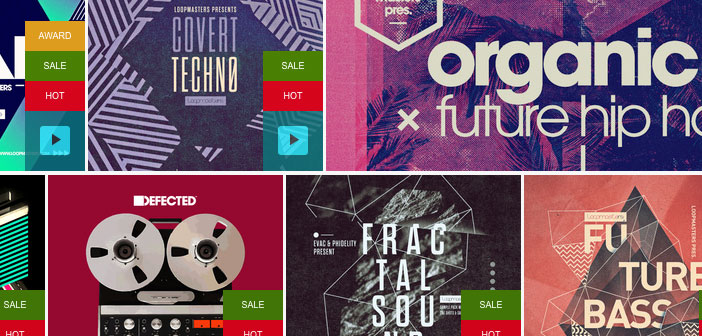 Loopmasters Summer Sale Now On: 40% Off Top Sample Pack Labels