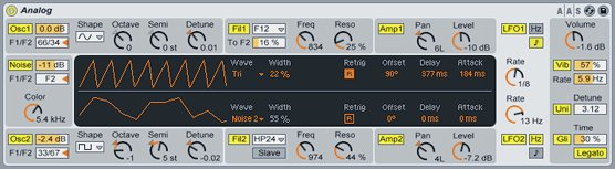 Ableton Live Analog