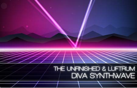 The Unfinished Diva Synthwave