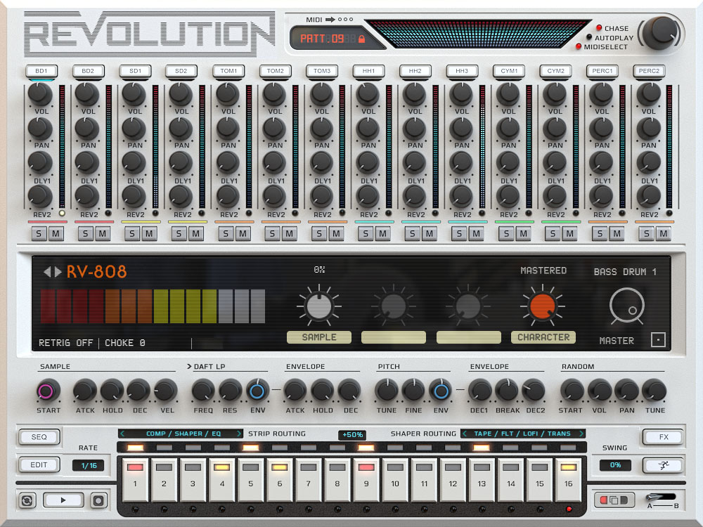 Wave Alchemy Revolution Screen - 808