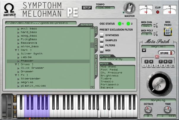 Ohm Force Symtohm:Melohman Performer Edition