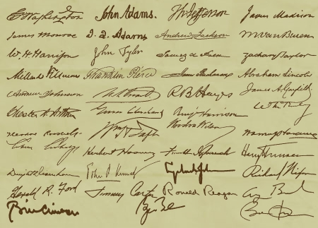 US Presidential Signatures