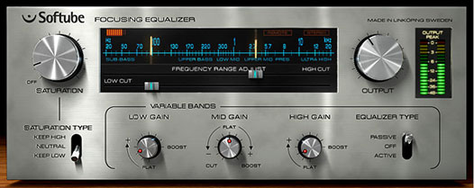 Softube Focusing Equalizer
