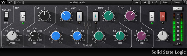 Waves SSL G-EQ