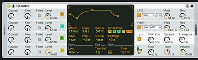 Ableton Live Operator