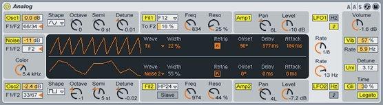 Ableton Live Analog