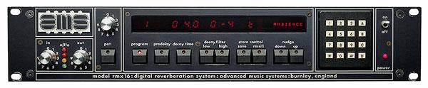 UAD AMS RMX 16 reverb plugin