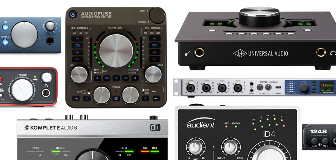 The 10 Best Audio Interfaces - Essential Buyers Guide 2017