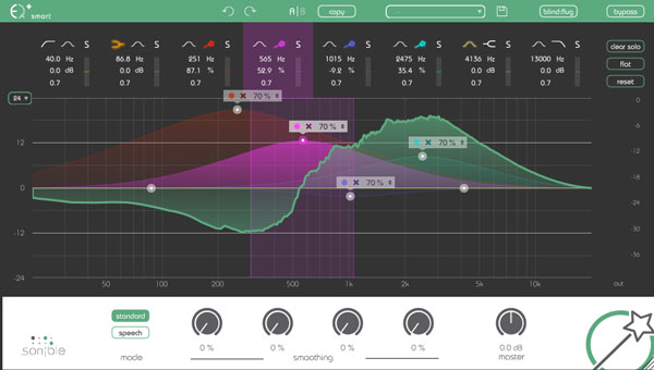 Sonible smart:EQ+ screen shot 03