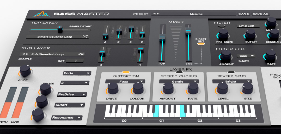 Loopmasters Release A New Bass-Centric Plugin Synth: Bass