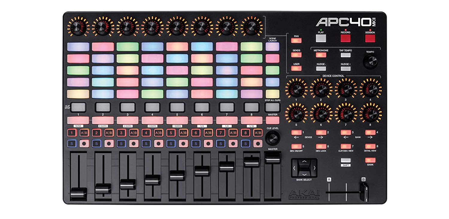 Midi Controller Software For Live Performance : akai professional apc40 mkii ableton performance controller with abl ~ Russianpoet.info Haus und Dekorationen